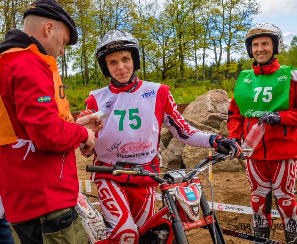 FIM Trial Wold Championship, 125cc CUP (2/6)
