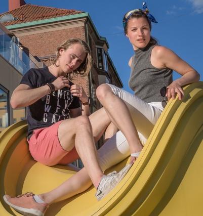 Nadja Bjönstöm Raunegger, Linus Lindeblom